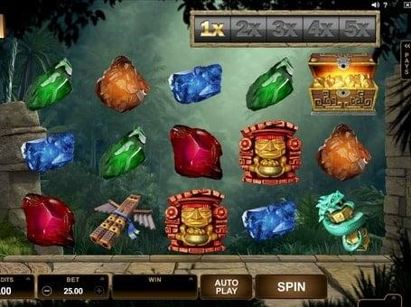 Символы в игре Jungle Jim El Dorado