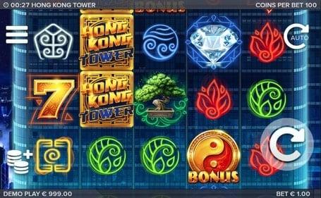 Символы игры в Hong Kong Tower