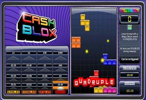 Призовая комбинация в игровом автомате Cash Blox