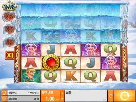 Комбинация на умножение в автомате Crystal Queen