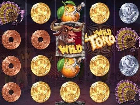 Дикие символы в игровом автомате Wild Toro