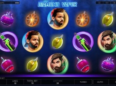 Символы в игровом автомате Diamond Vapor