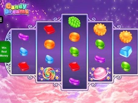 Символы в онлайн автомате Candy Dreams