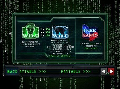 Wild в онлайн слоте Matrix