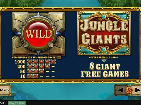 Scatter в слоте Jungle Giants