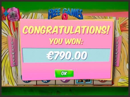 Выигрыш в серии фриспинов на онлайн автомате Ace Ventura