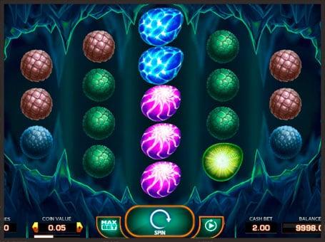 Символы в игровом автомате Draglings