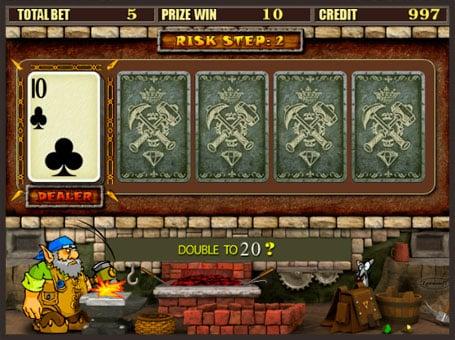 Риск игра в онлайн автомате Gnome