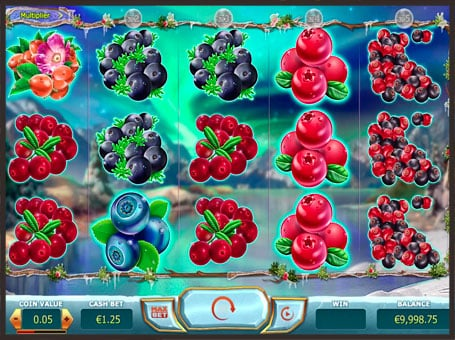 Символы игрового аппарата Winterberries